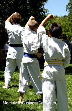 back to school karate