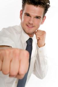 martial arts businessman
