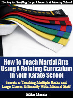 How to Teach Martial Arts Using a Rotating Curriculum in Your Karate School