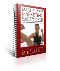 martial arts marketing plan templates