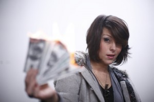Web designer burning through money