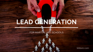 lead generation for martial arts and karate schools
