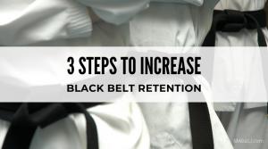 increasing black belt student retention