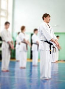 karate students