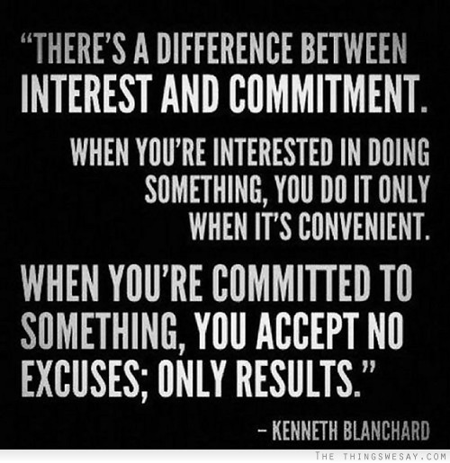 commitment to excellence