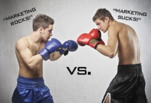 marketing rocks vs marketing sucks