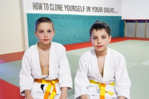 How to clone yourself in your dojo