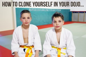 Clone yourself in your dojo