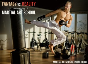 reality of running a martial art school