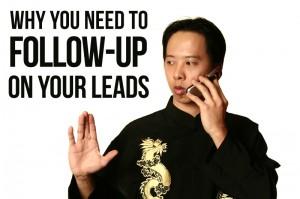 martial art school lead follow-up