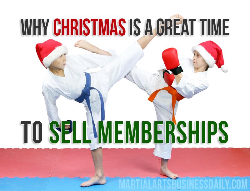 Christmas karate lessons