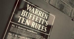 Buffet's first rule