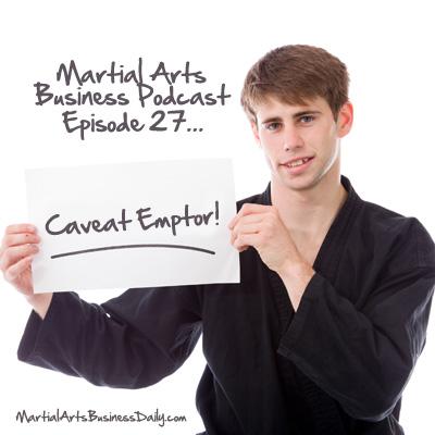 karate caveat emptor