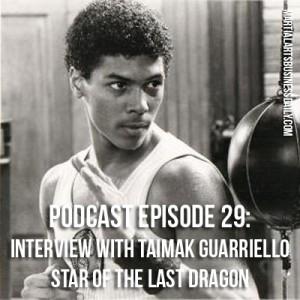 Taimak star of The Last Dragon