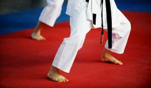 martial art school training