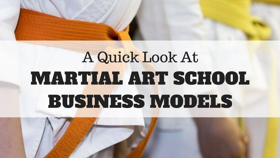 Martial art school business models