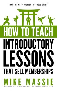 How to Teach Martial Arts Introductory Lessons
